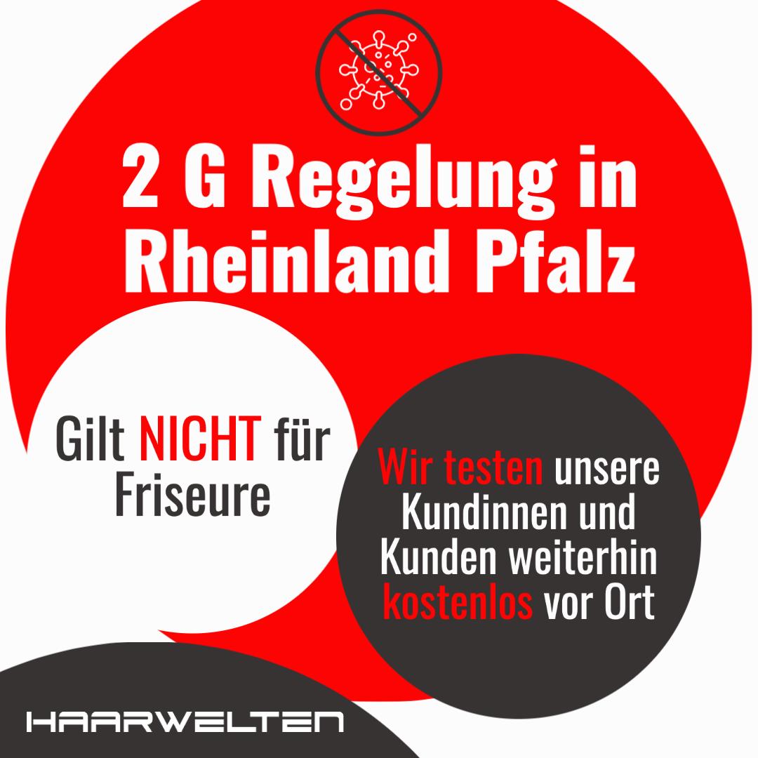 2G Regelung Corona Rheinland Pfalz für Friseure